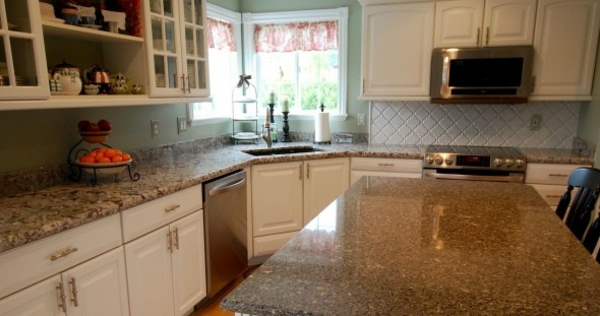 Kitchen Trends 2014 Elegant Granite Countertops And