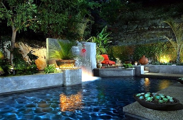 ... With Pool Garden Design   20 Stunning Garden Pool Inspiration
