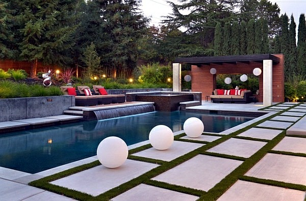 With pool garden design 20 stunning garden pool inspiration
