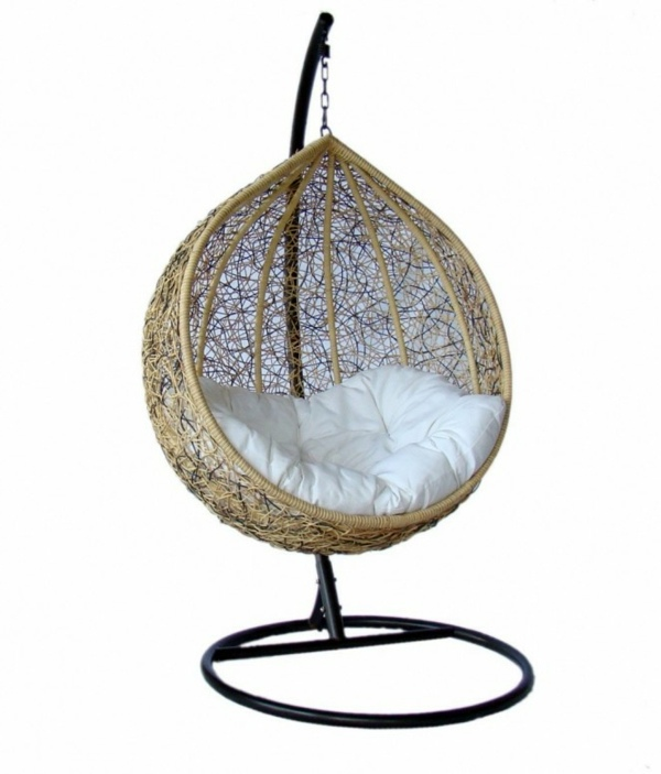 ... 50 Basket Hanging Chair   Cool Interior Design Ideas For Hanging Chair  With Frame ...