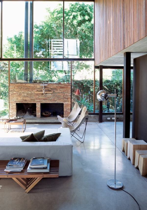 40 lighting ideas for living room cool modern living for Cool modern living rooms