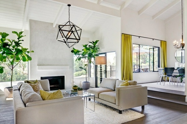 40 Lighting Ideas For Living Room Cool Modern Lamps