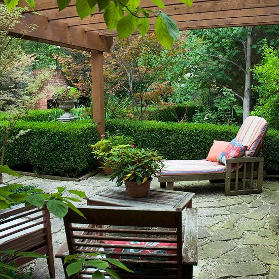 ... Patio Landscape Ideas   Furnishing Solutions For Any Yard Or Garden