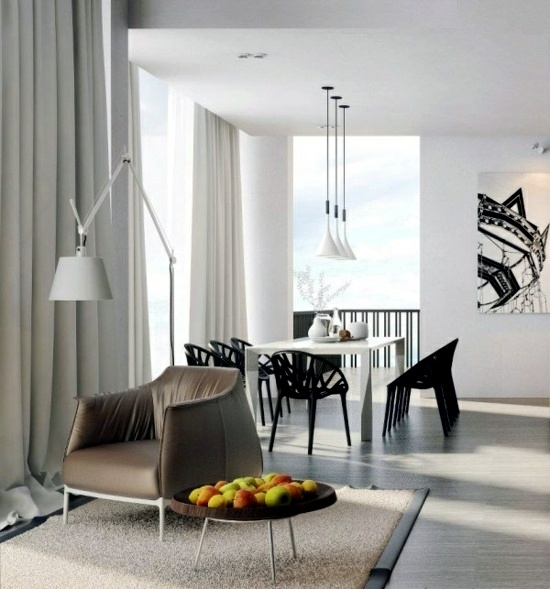 Cool Modern Interior Design With Oriental Charm Of Vic Nguyen