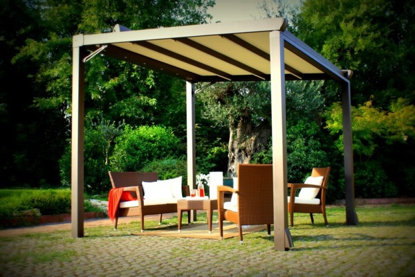 Pergola Shade – Sun Protection in the garden and in the backyard ...