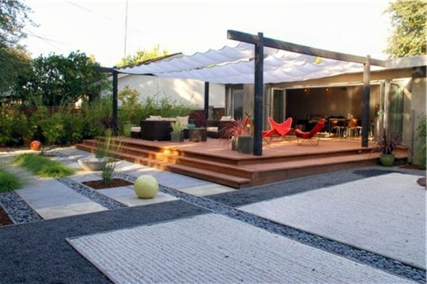 Pergola Shade Sun Protection In The Garden And In The