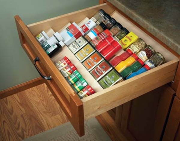Variety Of Spices Update Your Kitchen Cabinets 13 Stylish Interior Ideas