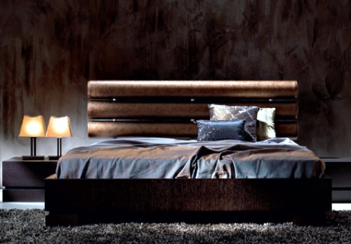 Orson bed Varaschin 10 beautiful modern beds - designer furnishings in the  bedroom