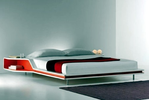 ... 10 beautiful modern beds - designer furnishings in the bedroom