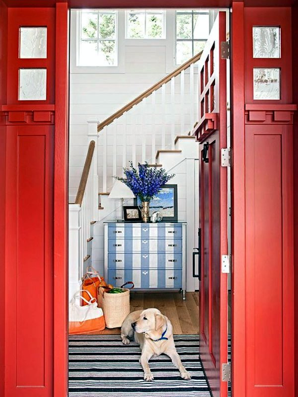 20 interior design ideas for beautiful color scheme in the hallway ...