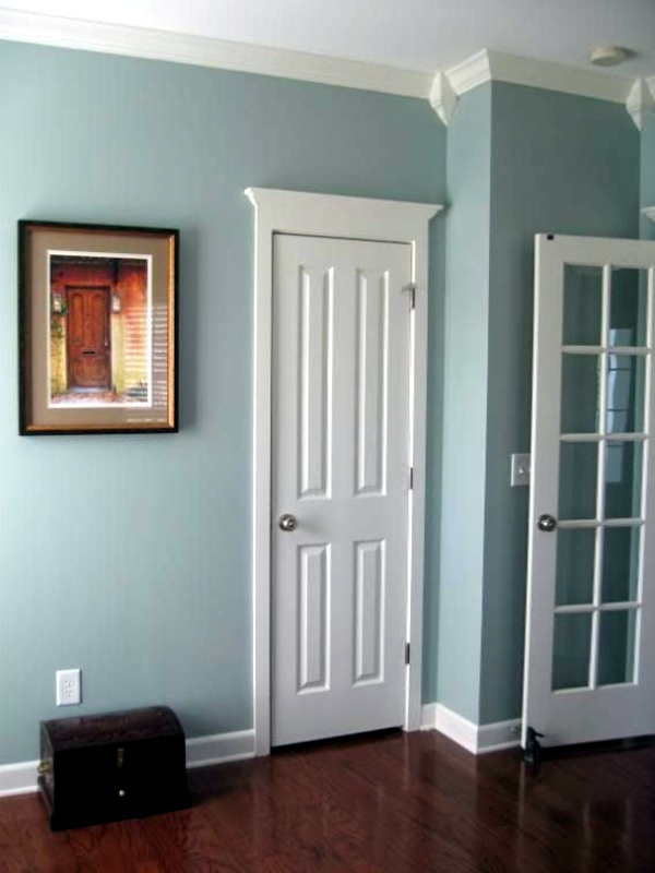 Awesome ... 20 Interior Design Ideas For Beautiful Color Scheme In The Hallway