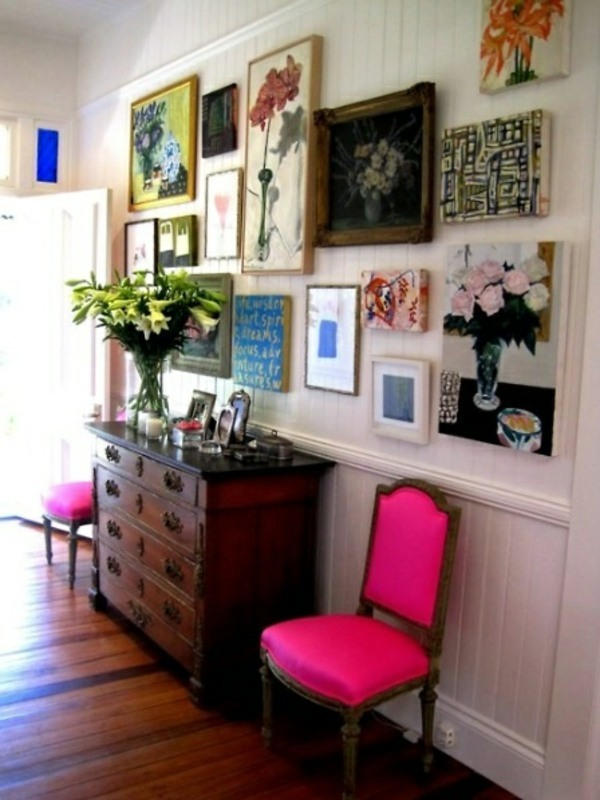 Ultra Pink Chairs 20 Interior Design Ideas For Beautiful Color Scheme In  The Hallway