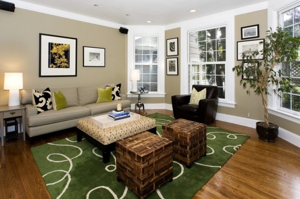 Wall color brown tones warm and natural interior design ideas avso org for Green and brown living room walls