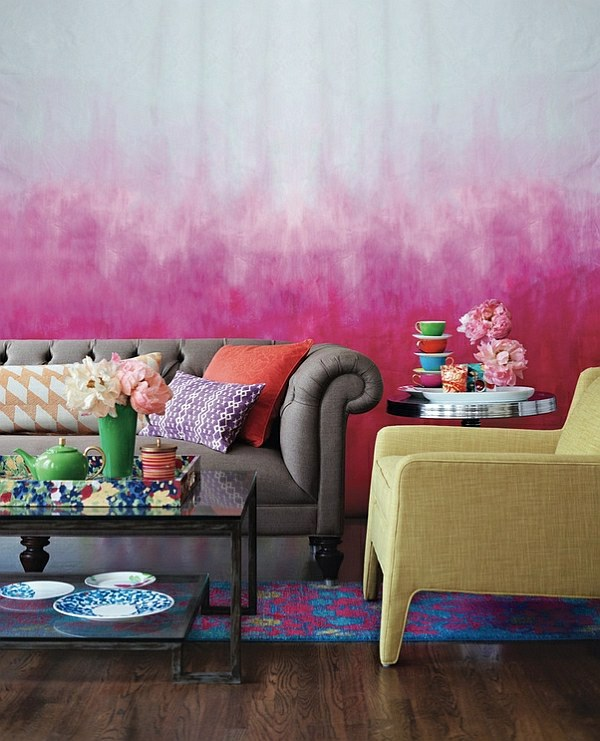 30 cool ideas for living color combination – Hot trend colors 2014 ...
