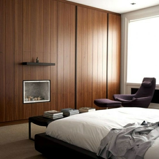 sophisticated storage ideas in the bedroom interior
