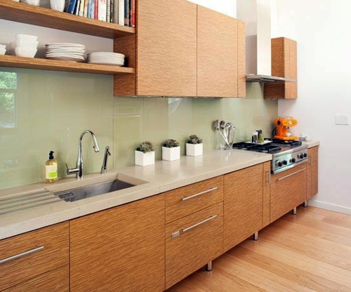 30 interior design ideas for kitchen glass back wall | Interior ...