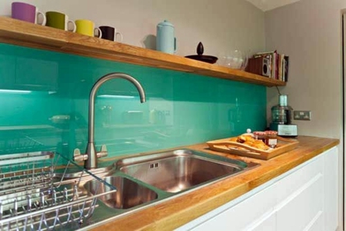 30 interior design ideas for kitchen glass back wall | interior