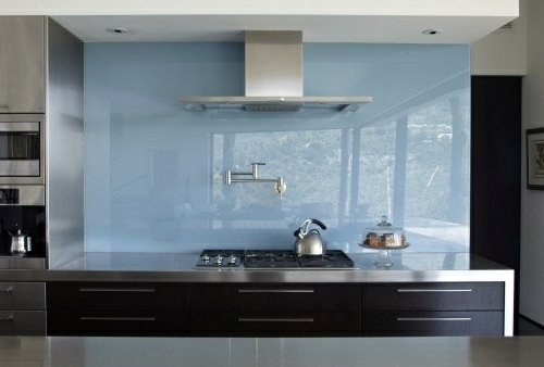 30 Interior Design Ideas For Kitchen Glass Back Wall