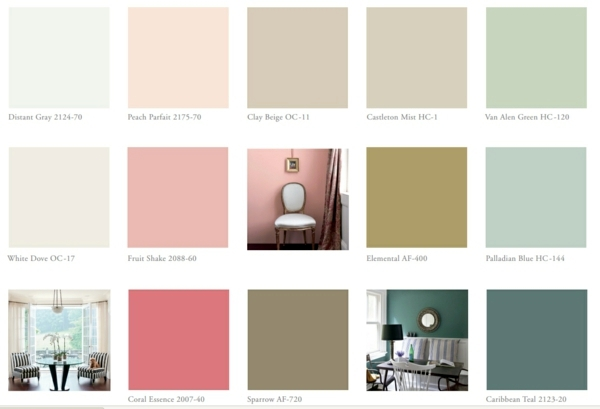 Color Chart Wall Color Pick The Right Shades For Your