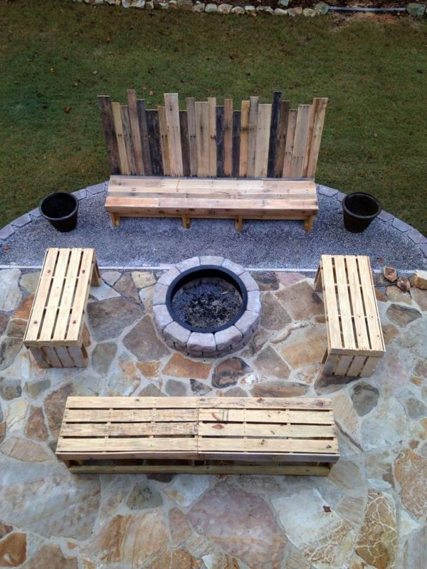 45 Diy Solid Wood Furniture From Pallets Interior Design