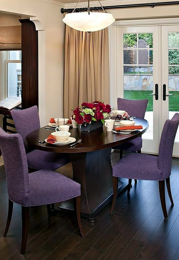 50 decorating ideas for small dining room interior for Small dining room ideas