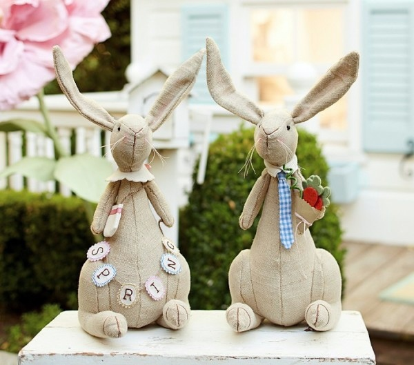 Cool Easter Decoration Ideas With Bunny And