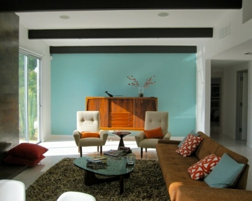 Living room design ideas in retro style 30 examples as for Retro style living room ideas