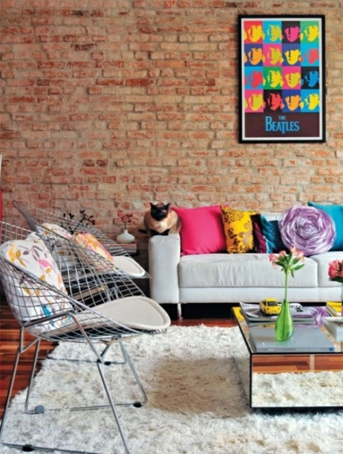 ... Living Room Design Ideas In Retro Style   30 Examples As Inspiration