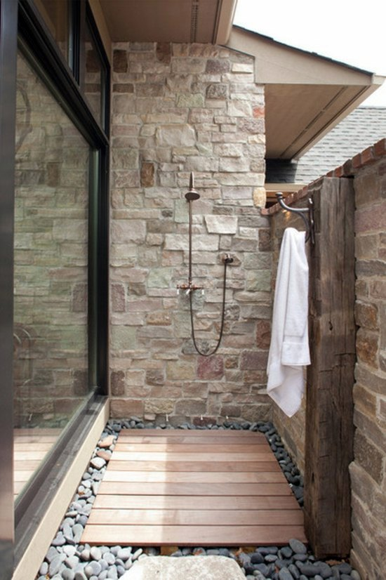 Outdoor shower build yourself learn the main rules - How to make an outdoor shower ...