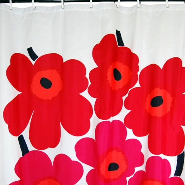Marimekko shower curtain – Fresh colors and patterns in the bathroom ...