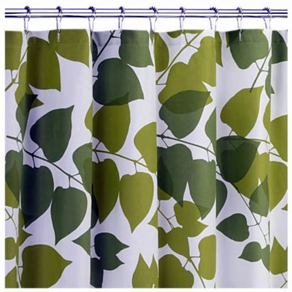 Lush Vegetation Marimekko Shower Curtain