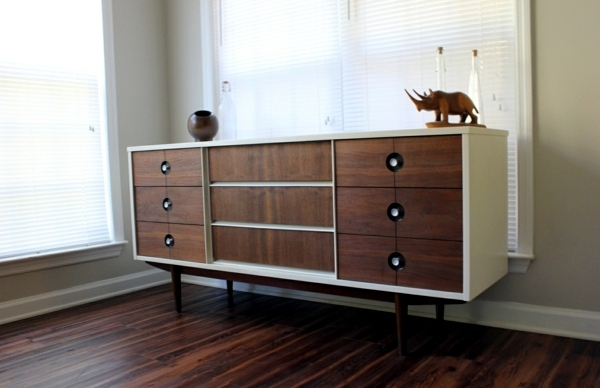 modern living room cabinets – sideboards made of birch wood from