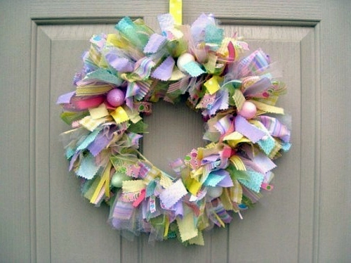 Ostern How To Make A Chic Easter Wreath Itself