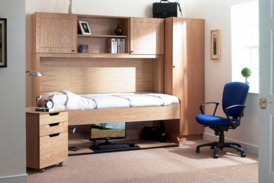 Marvelous Kinderzimmer   Youth Room Furniture   Space Saving Bed And Desk In One Good Ideas