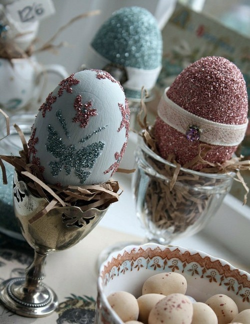 remarkable michigan exposures office thanksgiving decorations | 40 decorating ideas for Easter decoration with Easter eggs ...