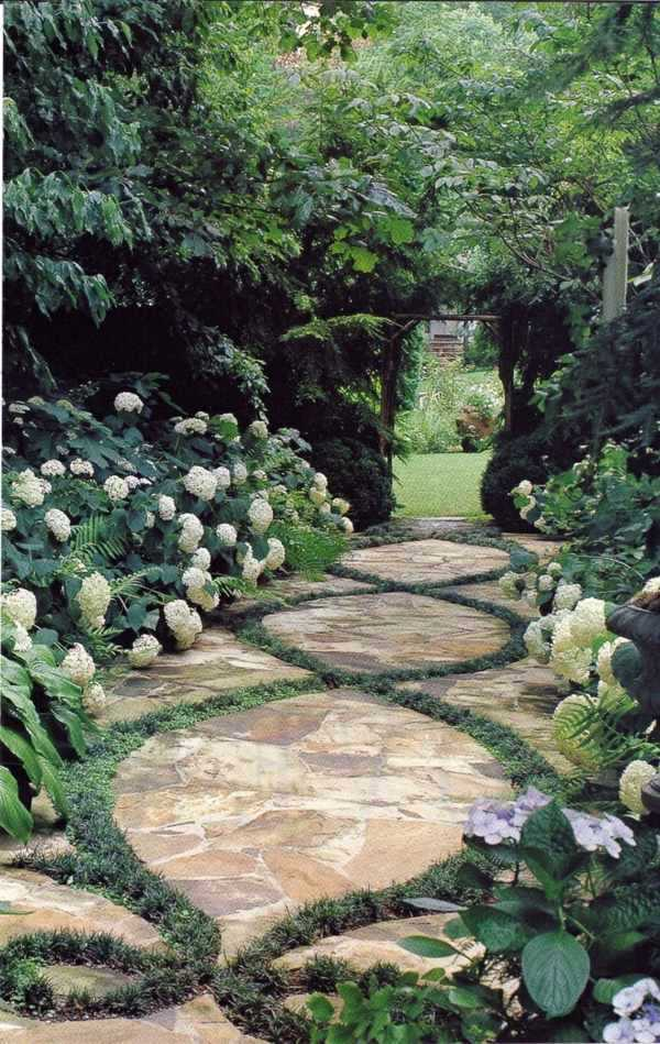 100 images on garden design the art of modeling the natural interior design ideas avso org - Garden pathway design ideas with some natural stones trails ...