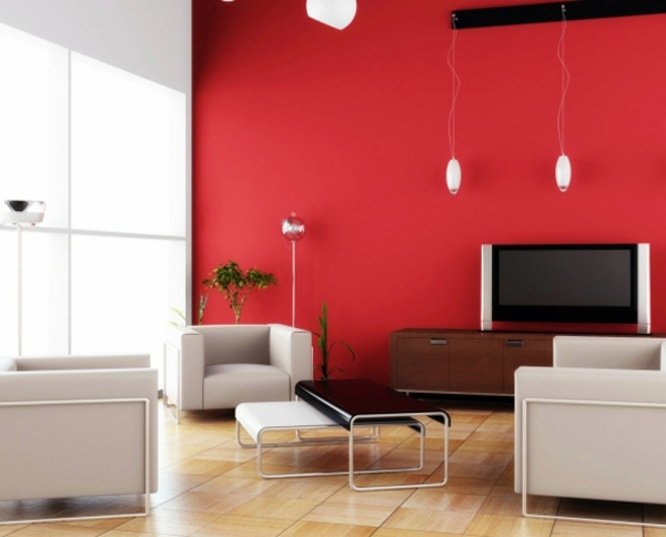 Red Is Great Aklzentfarbe Wall Color Ideas