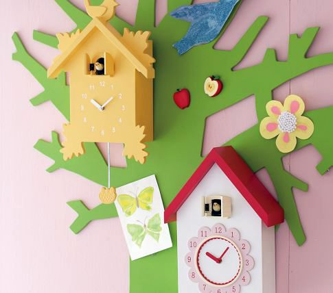 10 Cute Cuckoo Clocks For Decoration In Children 39 S Rooms