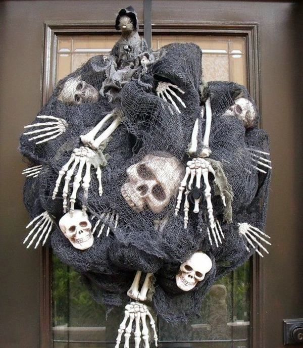 skeletons and skulls in a package halloween decoration do it yourself festive craft ideas