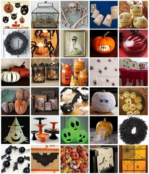 Halloween Decoration Do It Yourself Festive Craft Ideas Interior