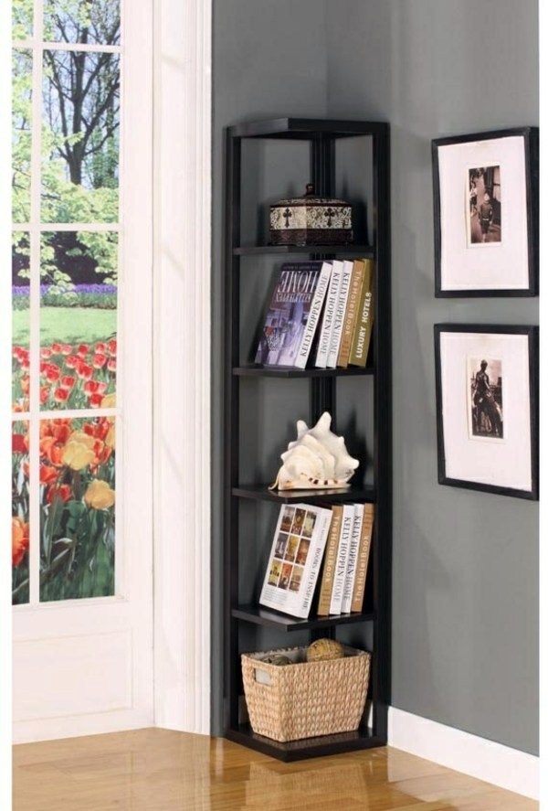 Corner Shelf For E Saving Ideas Practical Organization