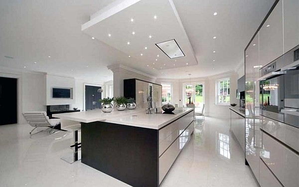 20 luxury kitchens designs which are worth the childish for Luxury kitchen designs 2012