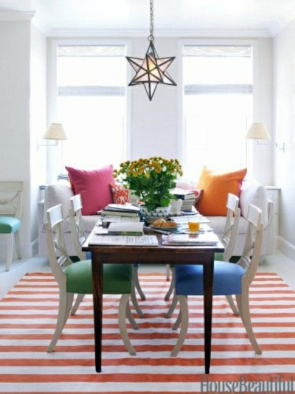 Fresh Spring Decorations In The Dining Room 30 Inspiring