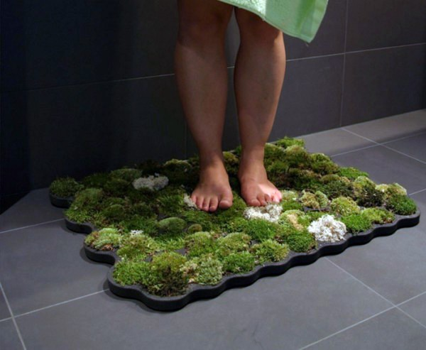 mat bathroom foam einrichtungsideen green home accessories inspired ideas from nature