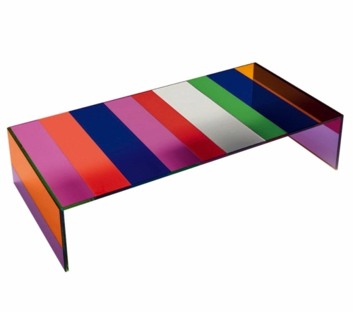 Cool Designer Coffee Tables By Glas Italia Attractive