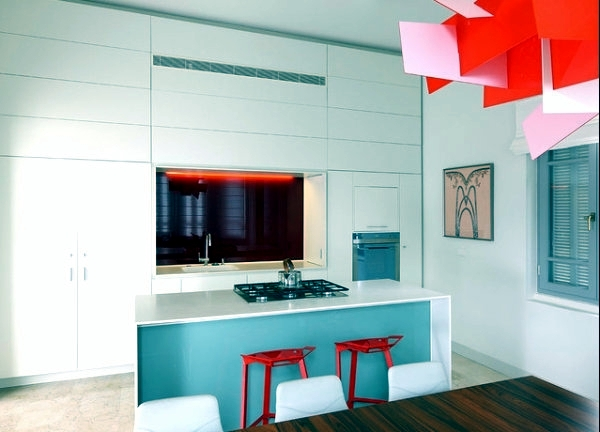 Funny home design ideas for cool interiors in bright colors ...