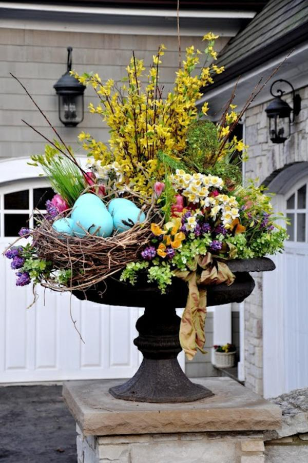 Make arrangements easter itself creative craft ideas for Spring flower arrangements for front door