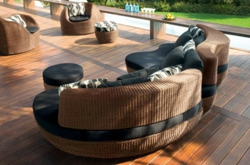 rattan garden furniture ideas design your balcony or garden with designer furniture interior. Black Bedroom Furniture Sets. Home Design Ideas