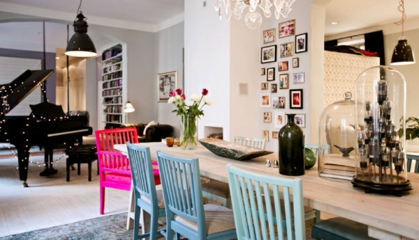 Scandinavian Interior Design With Colorful Touches A Little Shabby Chic And Interior Design