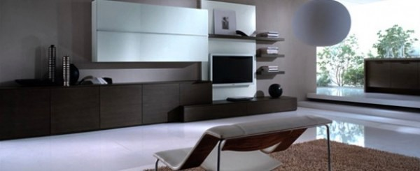 21 Gorgeous Modern, Minimalist Living Room Design